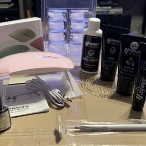 Poly Gel Nail Kit for Sale in Rochester, NY