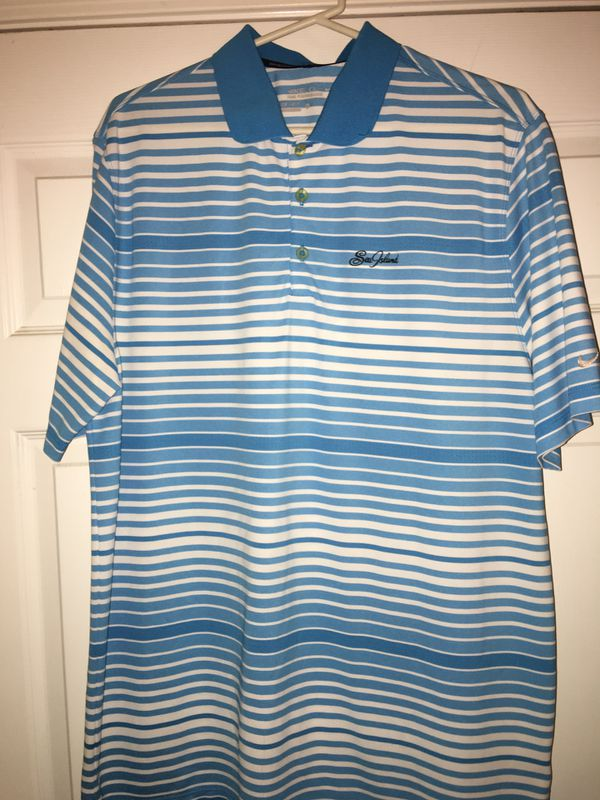 Nike Golf Shirt, Sea Island Golf Club, St. Simons Island, GA, Extra Large, $10