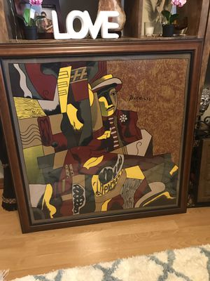 Silk framed Picasso for Sale in Miami, FL