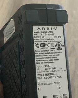 ARRIS SBG6580 SURFboard Wireless Cable Modem Gateway for Sale in Troy,  MI