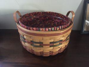 Longaberger Shades Of Autumn Basket Of Plenty for Sale in Dayton, OH