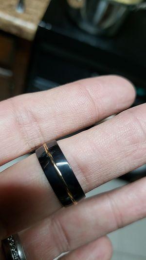 Titanium stainless steel ring for Sale in Farmville, VA