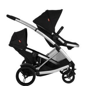 Phil & teds double stroller + graco car seat for Sale in Pomona, CA