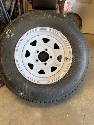 ST205/75R14 spare trailer tire for Sale in Tucson, AZ
