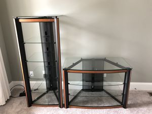 Tv stand and shelf for Sale in Smyrna, GA