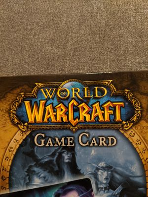 World of Warcraft 60 day pre-paid game card for Sale in Ellicott City, MD