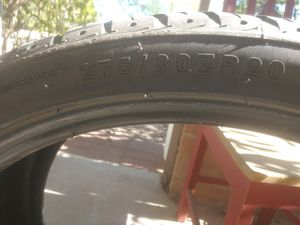 Tire 275 /30z R20 night new for 100 , for Sale in Tucson, AZ
