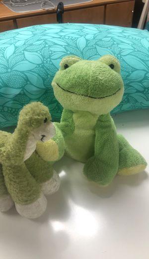 Friggie & Dino Plushie Friends $5 for Sale in Fontana, CA