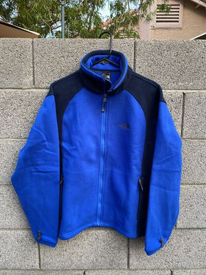 The North Face Blue Full Zip Mens Fleece Jacket S for Sale in Las Vegas, NV