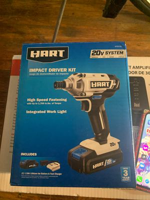 Hart impact driver kit for Sale in Columbus, OH