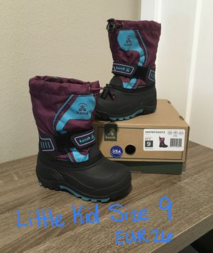 Little Kid Size 9 Kamik Boots- Like New for Sale in Puyallup, WA