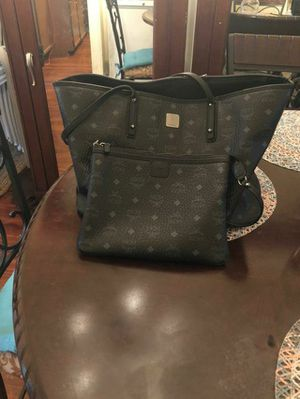 Black MCM Tote Bag with Little purse for Sale in Washington, DC