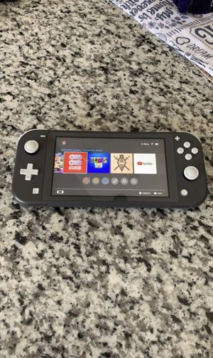 Nintendo Switch Lite - Gray (1st come,1st serve) for Sale in St. Louis, MO
