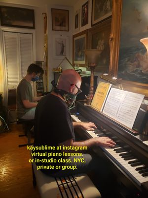 Virtual Piano Lessons. Or In-Studio Class. Private or Group. for Sale in New York, NY