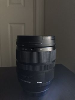Camera Lens (Sigma) for Sale in Gainesville,  FL