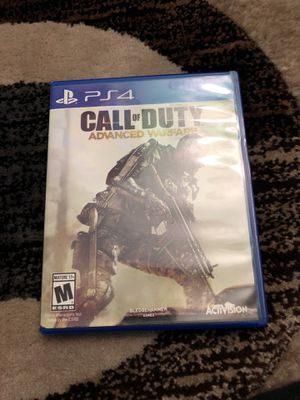Call of duty advanced warfare ps4 for Sale in Rockville, MD
