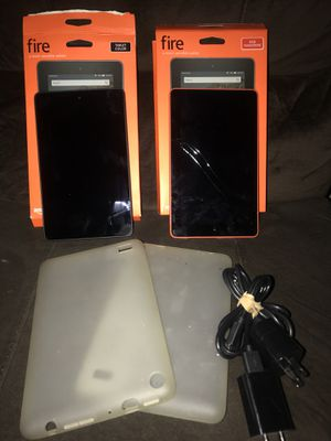 2 Amazon Fire Kindles for Sale in Ashburn, VA
