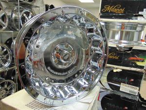 Brand New Chrome 22X10 Ultra Gladiator Rims 5X135 Ford *-25MM Offset for Sale in Aurora, CO