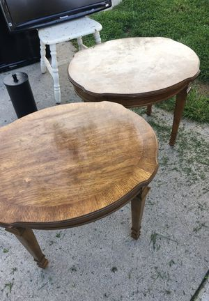 Coffee / end wood tables for Sale in Silver Spring, MD