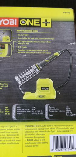 Ryobi 40 watt soldering iron tool only for Sale in City of Industry,  CA