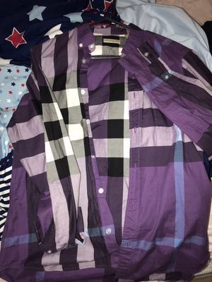Burberry plaid for Sale in Bronx, NY