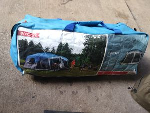 Embark 9 man Camping tent W shower utiliary for Sale in WHT SETTLEMT, TX