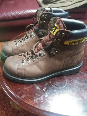 Catapiller work boots..11 for Sale in North Olmsted, OH
