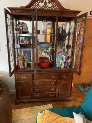 Antique China Cabinet / Hutch for Sale in Arlington, VA