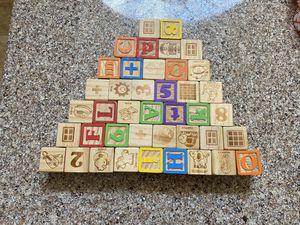 Wooden blocks for Sale in Houston, TX