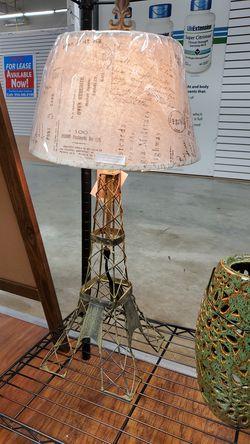 Eiffel Tower Lamp for Sale in Pompano Beach,  FL