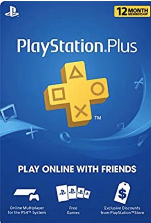 PlayStation Plus: 12 Month Membership [Digital Code] for Sale in Silver Spring, MD