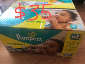 Pampers diapers size 3 for Sale in San Leandro, CA