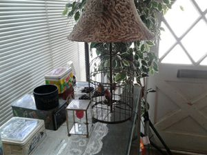Birdcage lamp for Sale in Abilene, TX