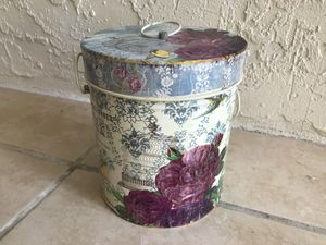 Shabby chic French cookie jar for Sale in Sanford, FL