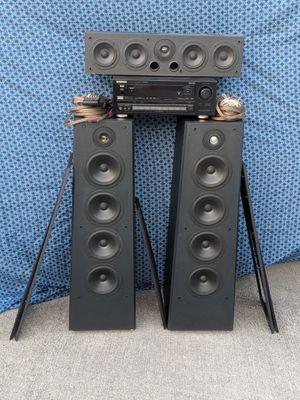 SPEAKERS ! 3 POLK AUDIO LS-90's for Sale in Port St. Lucie, FL