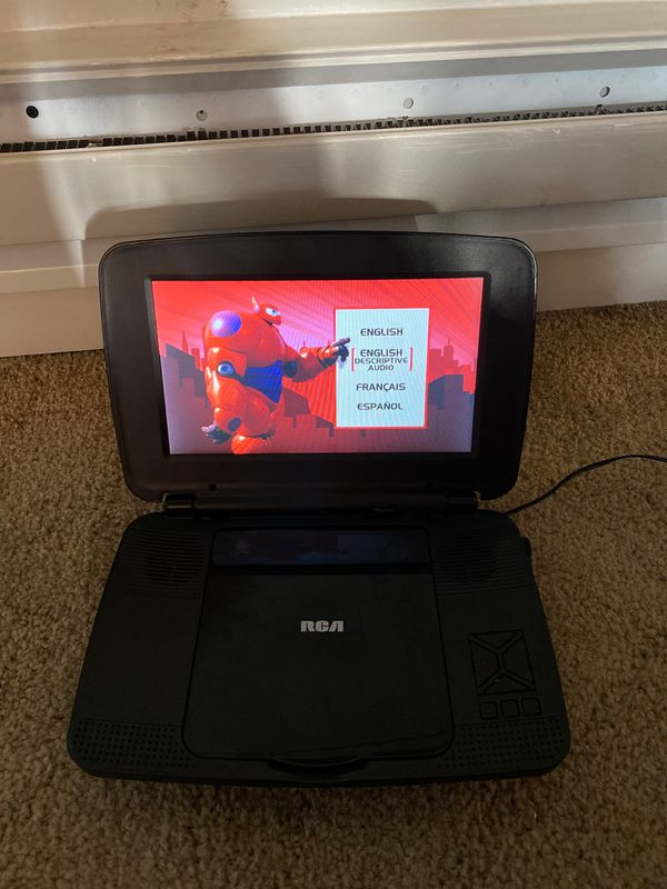 RCA DVD player with screen
