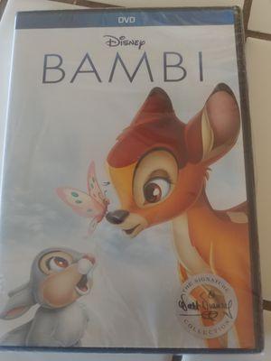 Bambi dvd 18.00 for Sale in Hesperia, CA