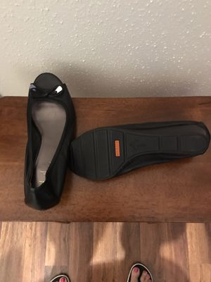 Black Cole Haan Nike air wedge shoes size 81/2b for Sale in Houston, TX