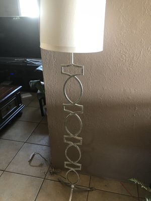 Tall lamp metal for Sale in Bakersfield, CA