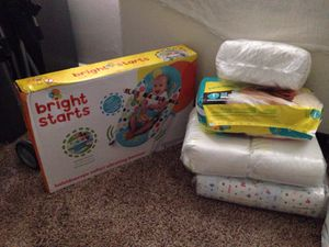 Bright Starts/Huggies&Pampers for Sale in Baltimore, MD