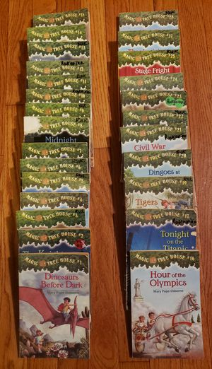 Magic Tree House book set #1-28 for Sale in St. Charles, IL
