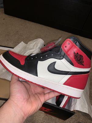 "Jordan 1 ""Bred Toe"" for Sale in Renton, WA"