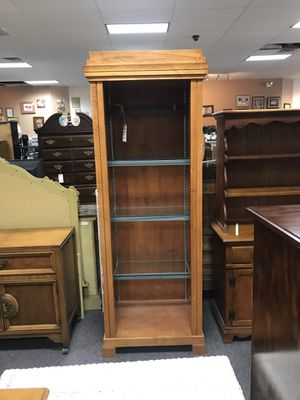 Tall curio for Sale in Piney Green, NC