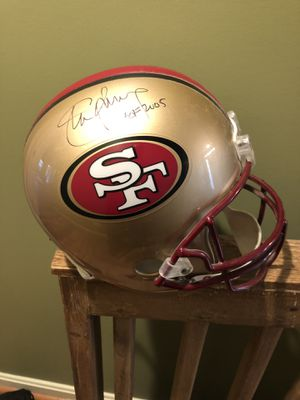 Steve Young Autographed 49ner Helmet for Sale in Bristow, VA