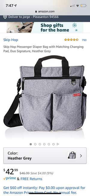 SKIP HOP Diaper Bag for Sale in Pleasanton, CA
