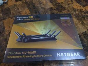 Netgear Nighthawk Tri-Band Wifi Router for Sale in Allen, TX