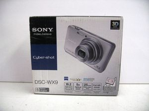 SONY CyberShot DSC-WX9 16.2MP Digital Camera NEW SEALED for Sale in Los Angeles, CA