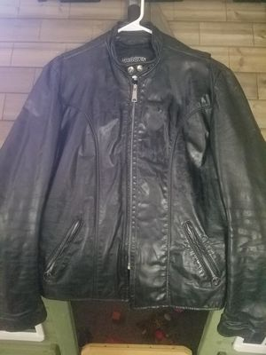 Brooks Leather Motorcycle Jacket Mens for Sale in Dracut, MA