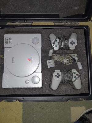 1991 Sony PlayStation with 2 controllers I jus don't have the t.v.adapter for console.... but works great for Sale in San Bernardino, CA