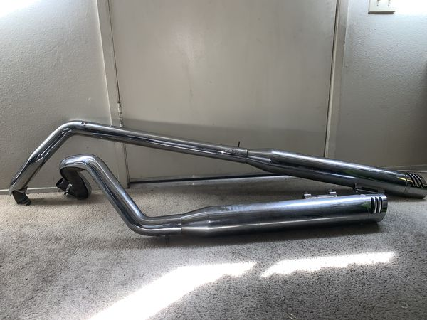 Freedom Racing Dual Exhaust Pipes